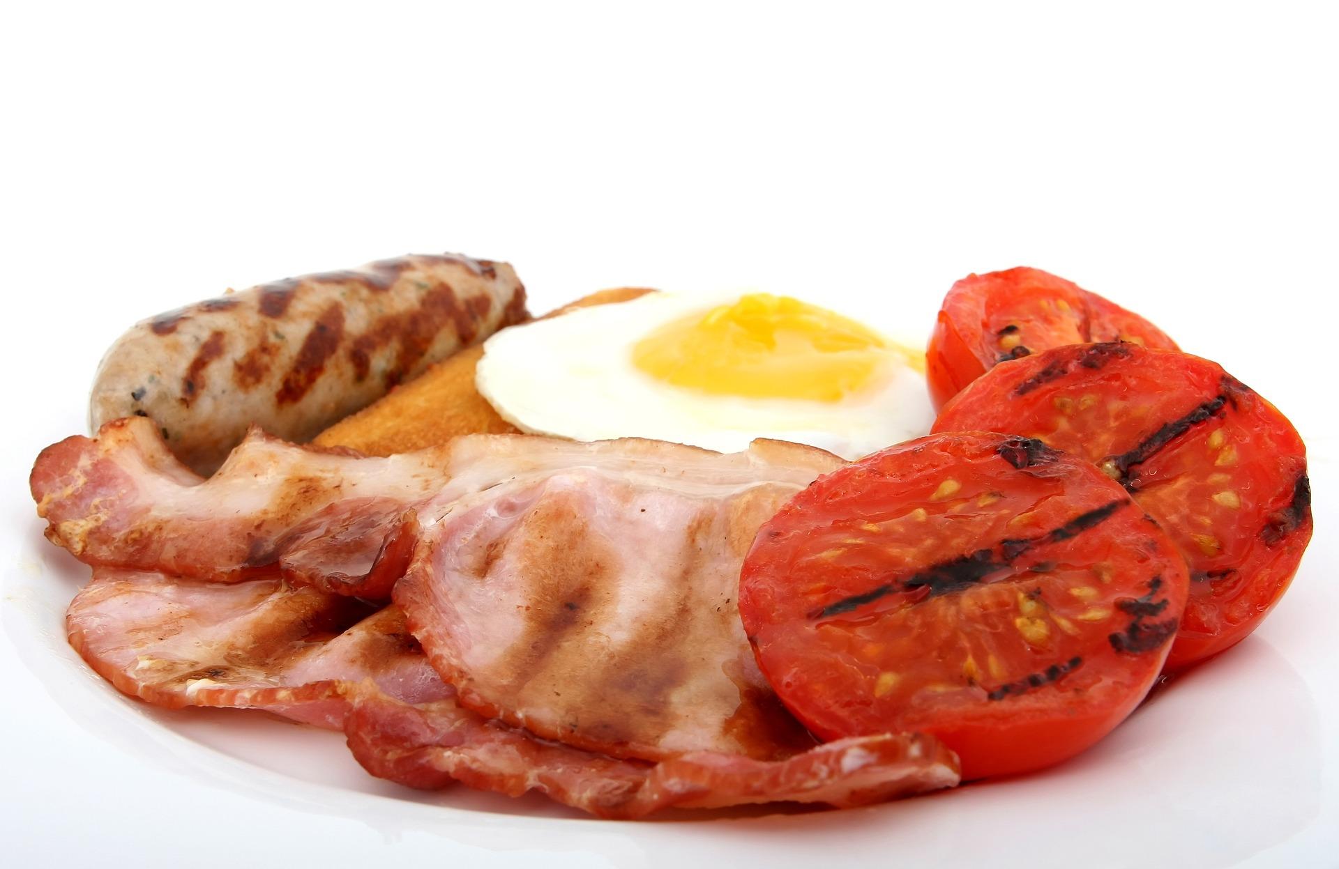 bekon - wysoki cholesterol objawy